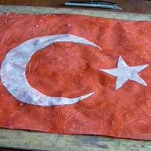 ebru sanatında türk bayrağı yapım teknikleri, eda özbekkangay-hobiderya