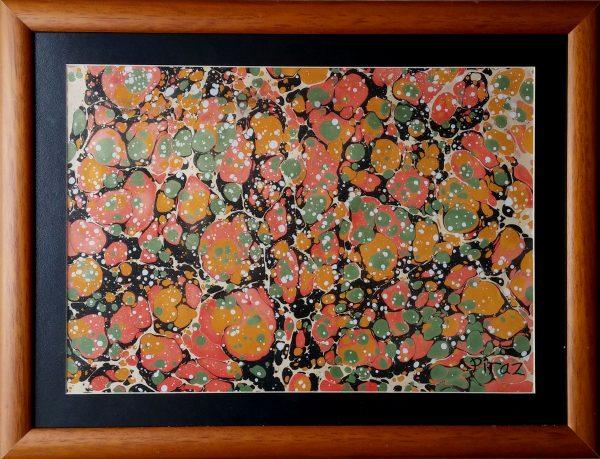 battal ebru-hüsamettin piraz-ebru sanatı eserleri