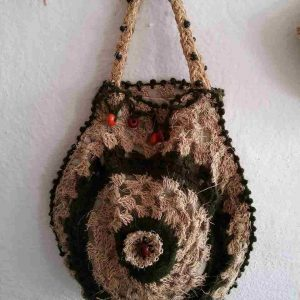 muz-lifinden-sanat-eserleri-bayan çanta-damla desenli-115