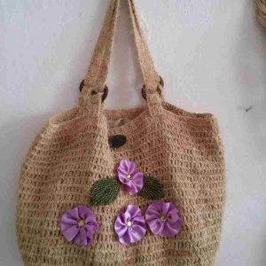muz-lifinden-sanat-eserleri-bayan çanta-mor çiçek temalı bayan çanta-140