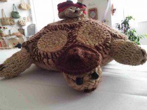 Oyuncak örgü kaplumbağa, Hediyelik eşya, muz lifi, sanat eserleri-55