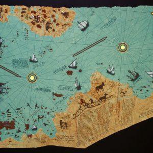 yılmaz-eneş-gül-baba-ebru-sanatı-piri-reis-amerika-haritası-biçiminde-ebru-örneği-k.jpg